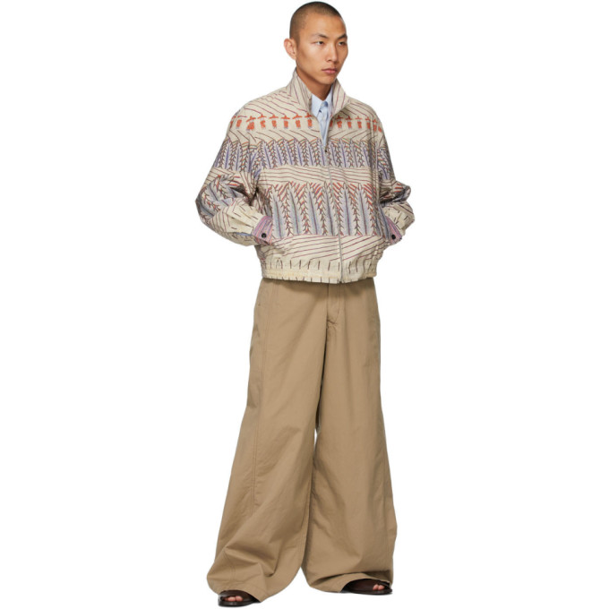 LEMAIRE Clothing LEMAIRE BEIGE MARTIN RAMIREZ ZIPPED JACKET