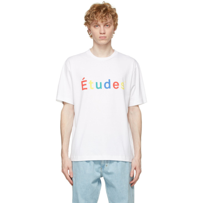 Etudes Studio ETUDES WHITE WONDER MULTICO T-SHIRT