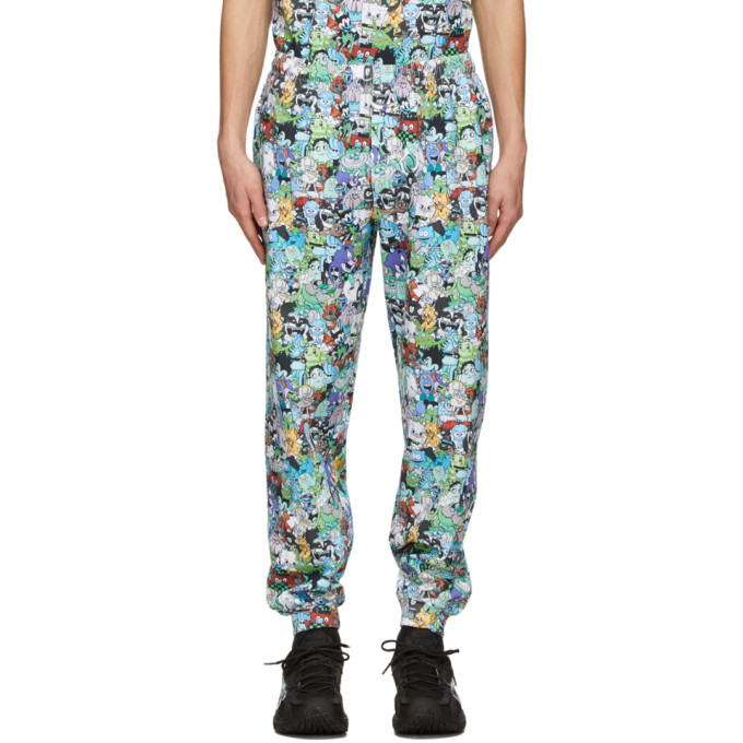 Vetements MULTICOLOR CARTOON MANIA SWEATPANTS