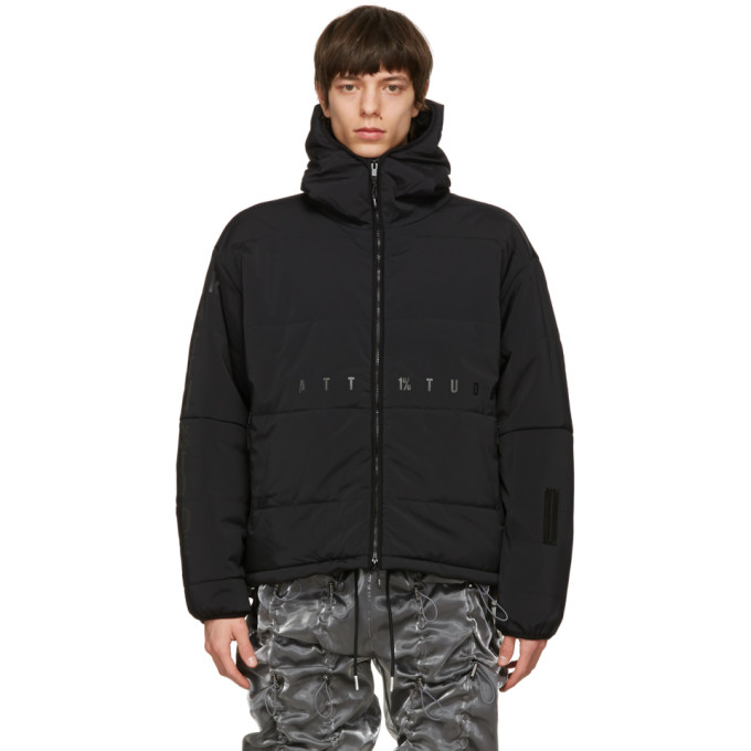 99 IS 99% IS Black Padded Arm Flameproofing Jacket