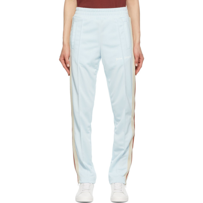 Palm Angels Track pants PALM ANGELS BLUE AND WHITE TRACK LOUNGE PANTS