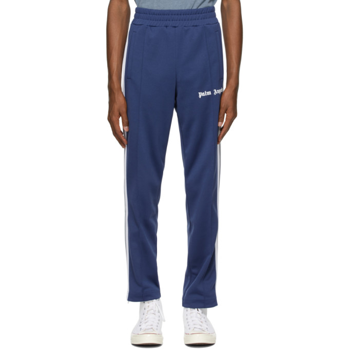 Palm Angels PALM ANGELS BLUE CLASSIC SLIM TRACK PANTS