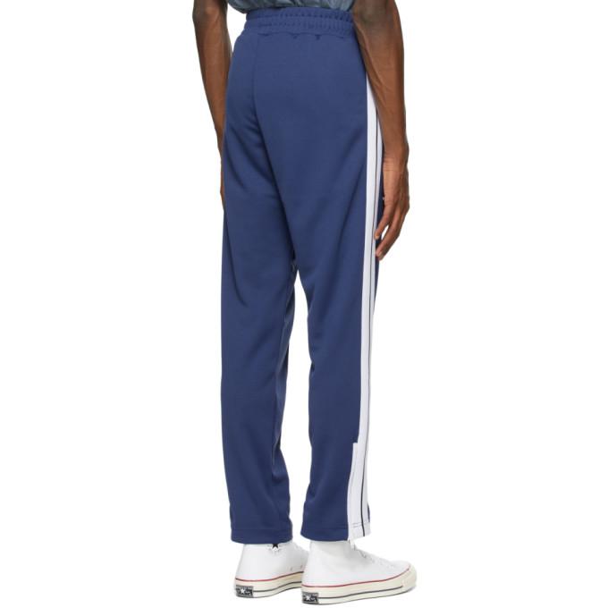 PALM ANGELS Track pants PALM ANGELS BLUE CLASSIC SLIM TRACK PANTS