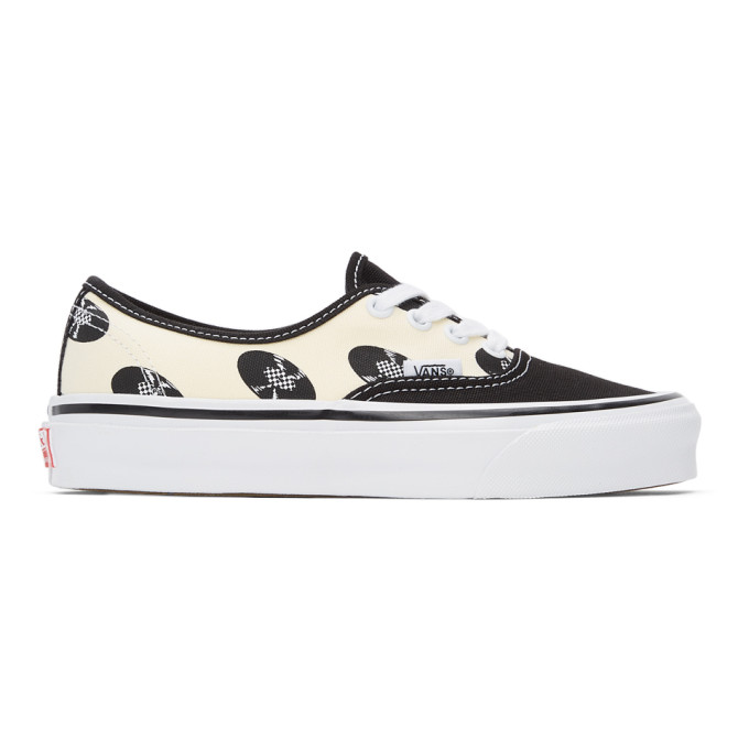 Vans Shoes VANS OFF-WHITE AND BLACK WACKO MARIA EDITION OG AUTHENTIC LX SNEAKERS