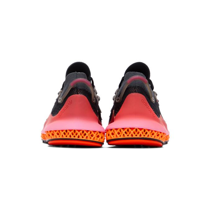 ADIDAS ORIGINALS Shoes ADIDAS ORIGINALS BLACK AND PINK 4D FUSIO SNEAKERS