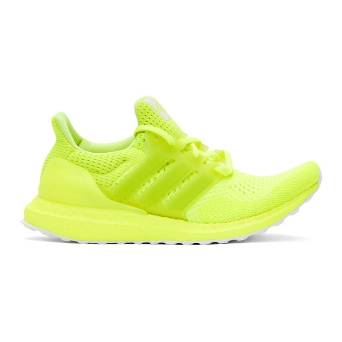 Adidas Originals Sneakers ADIDAS ORIGINALS YELLOW ULTRABOOST 1.0 DNA SNEAKERS