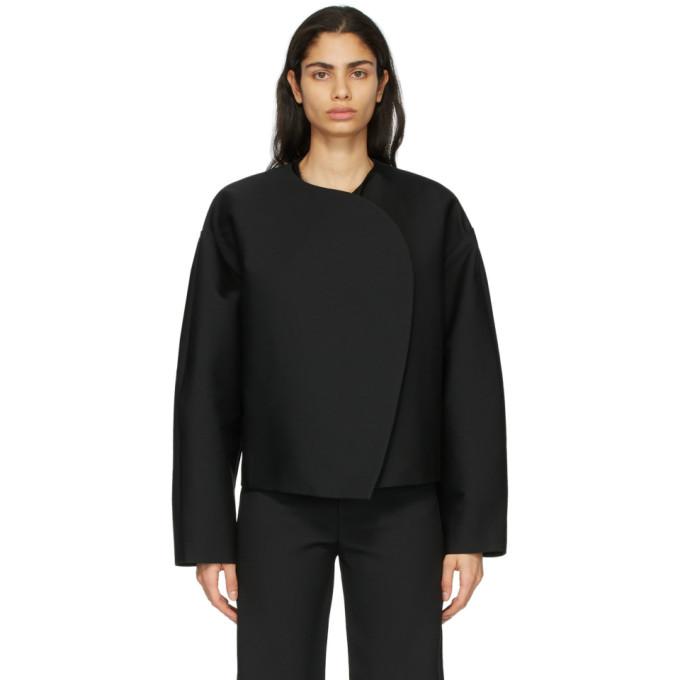 Toteme Toteme Black Wool Dinner Jacket