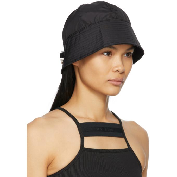 ALYX Hats 1017 ALYX 9SM BLACK NARROW BUCKLE BUCKET HAT