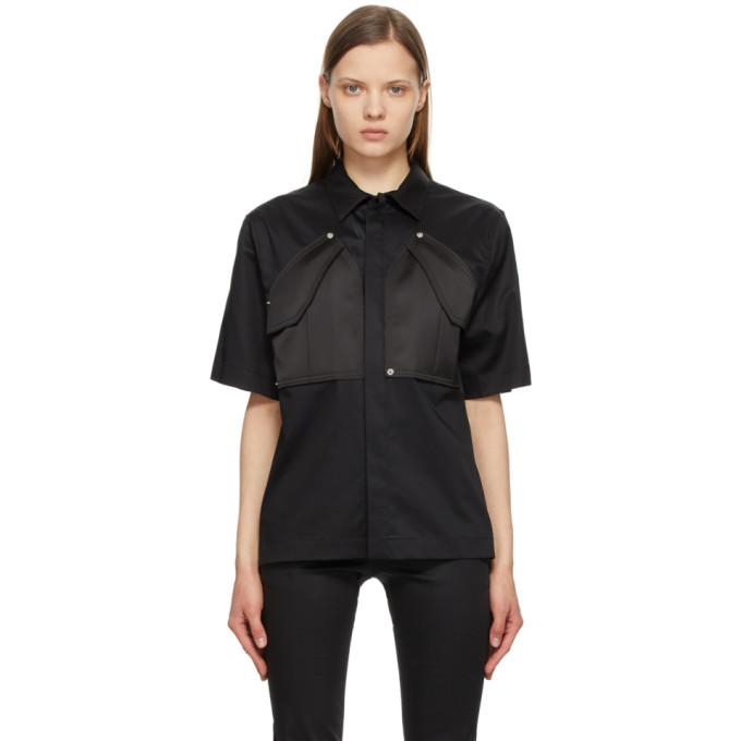 Alyx Clothing 1017 ALYX 9SM BLACK CARGO SHORT SLEEVE SHIRT