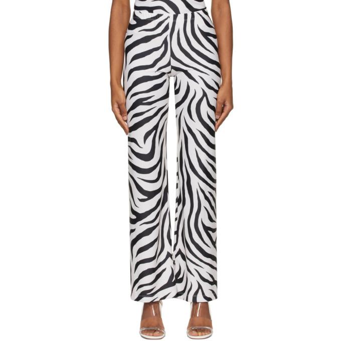 Maryam Nassir Zadeh SSENSE 独家发售白色 and 黑色 Dance 运动裤