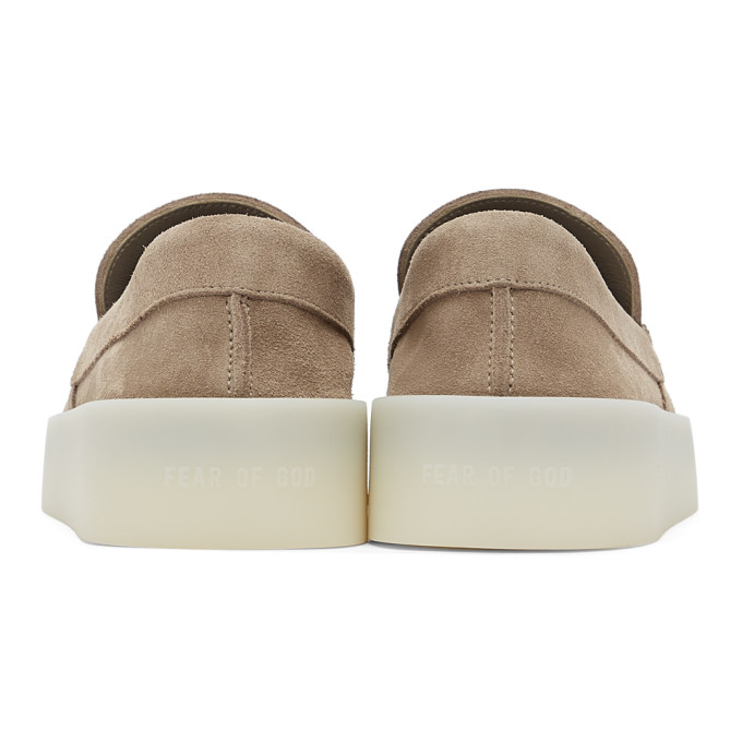 FEAR OF GOD Suedes FEAR OF GOD BEIGE THE LOAFER LOAFERS