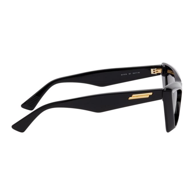 BOTTEGA VENETA Sunglasses BOTTEGA VENETA BLACK CAT-EYE SUNGLASSES