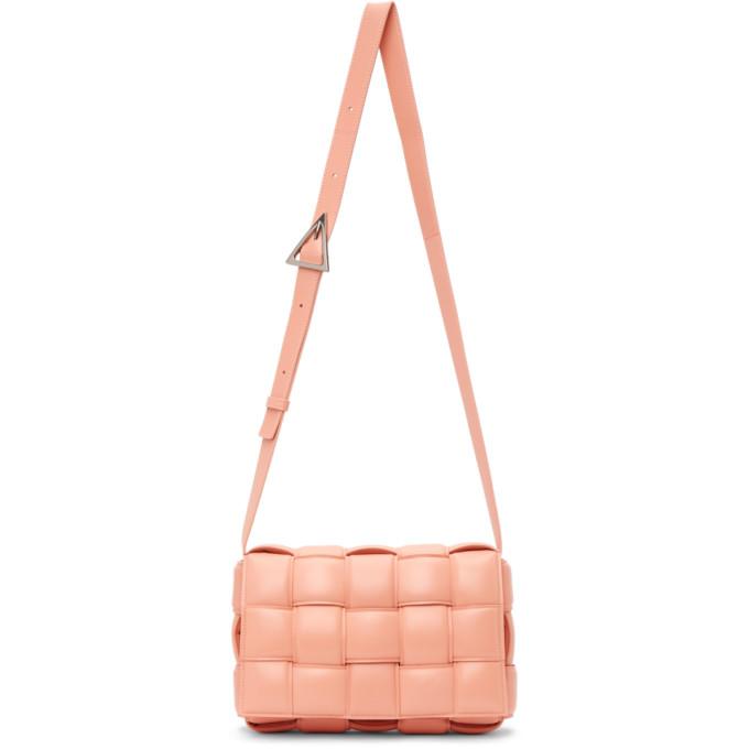 Bottega Veneta Bags BOTTEGA VENETA PINK PADDED CASSETTE BAG