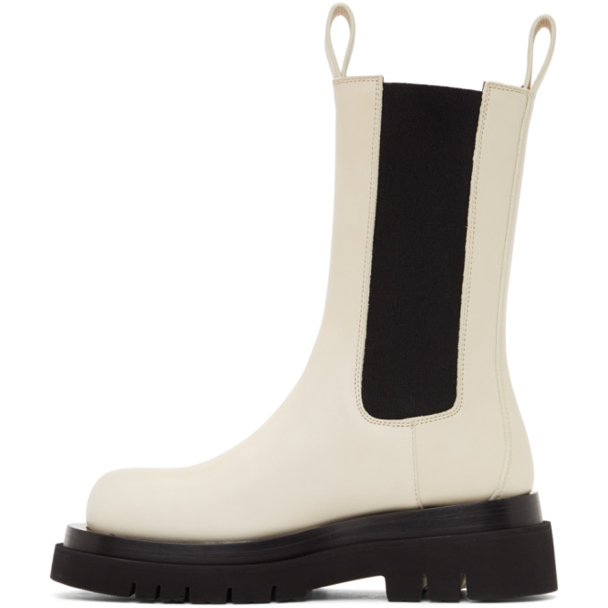 BOTTEGA VENETA Shoes BOTTEGA VENETA OFF-WHITE THE LUG BOOTS
