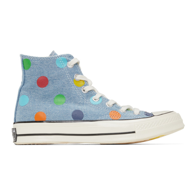 Converse CONVERSE BLUE GOLF WANG EDITION CHUCK 70 HIGH SNEAKERS