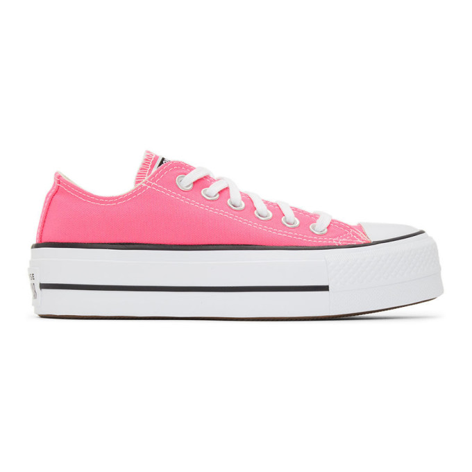 Converse CONVERSE PINK SEASONAL COLOR CHUCK TAYLOR ALL STAR LIFT LOW SNEAKERS