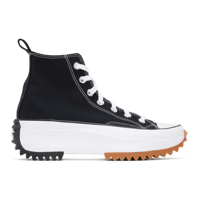 Converse Canvases CONVERSE BLACK RUN STAR HIKE HI SNEAKERS