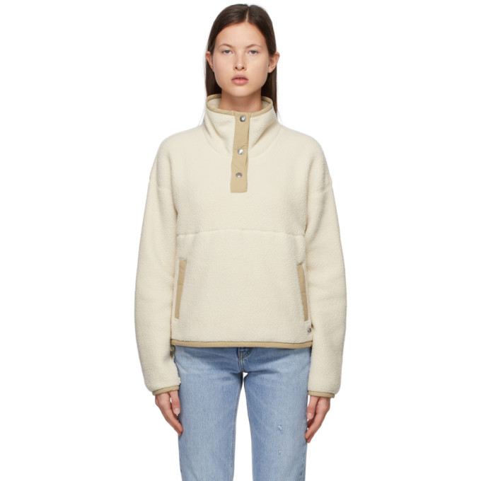 The North Face Jackets THE NORTH FACE BEIGE 1/4 SNAP CRAGMONT SWEATER