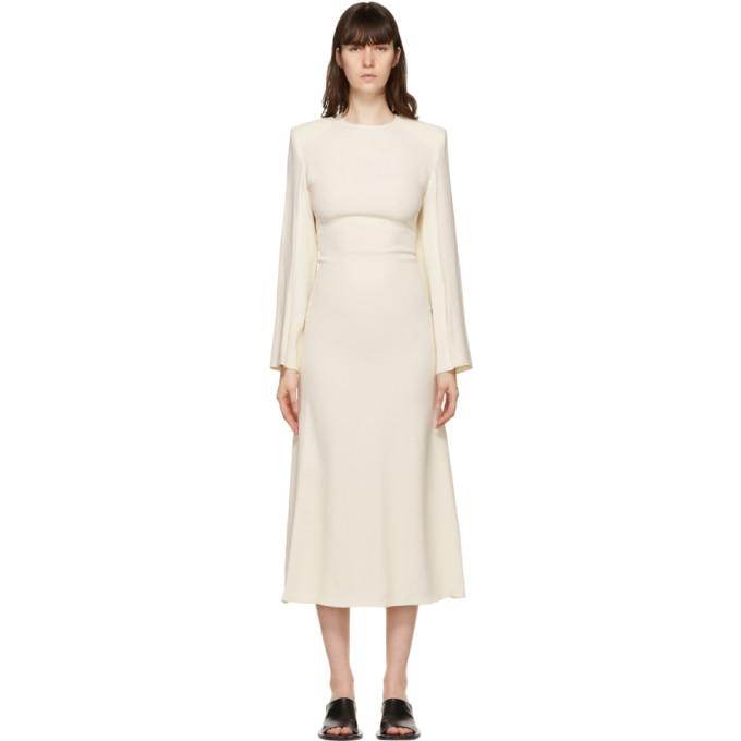 Gauchère GAUCHERE OFF-WHITE STANIE DRESS