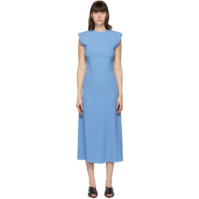 Gauchère GAUCHERE BLUE SUZANNA DRESS