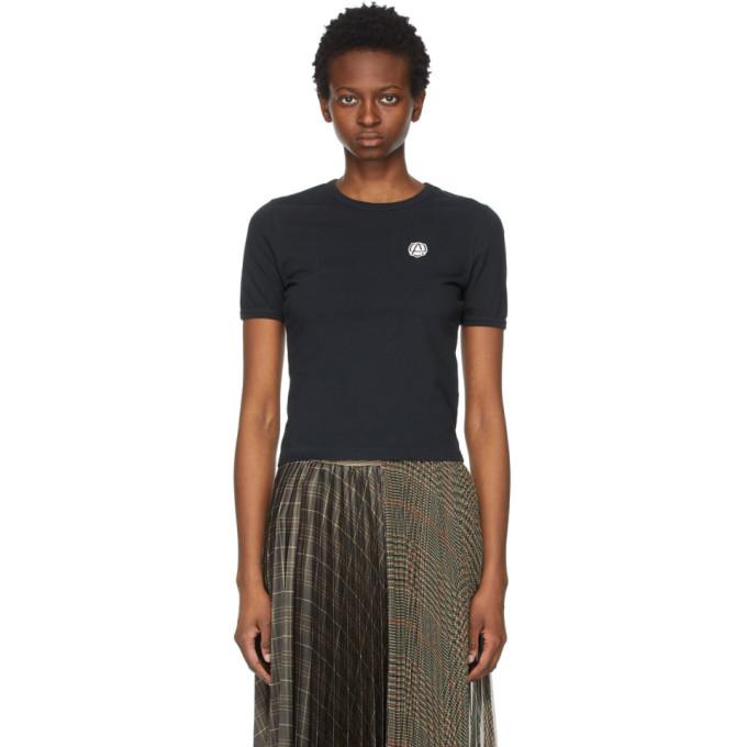 Ambush T-shirts AMBUSH BLACK EMBLEM SLIM-FIT T-SHIRT