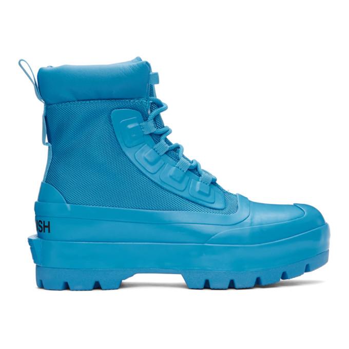 Ambush Blue Converse Edition CTAS Duck Ankle Boots