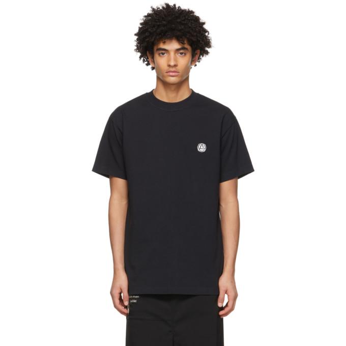 Ambush T-shirts AMBUSH BLACK EMBLEM BASIC T-SHIRT