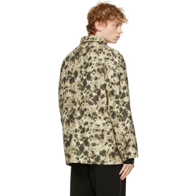 NEEDLES Cottons NEEDLES GREEN CANVAS COVERALL JACKET