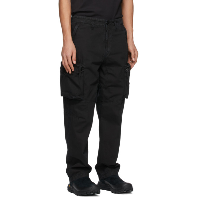 STONE ISLAND Pants STONE ISLAND BLACK T.CO OLD CARGO PANTS