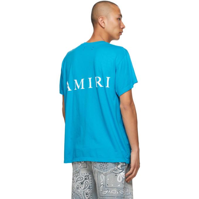 AMIRI Cottons AMIRI BLUE MA T-SHIRT