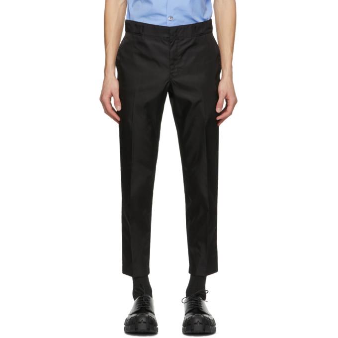 Prada Black Re-Nylon Trousers