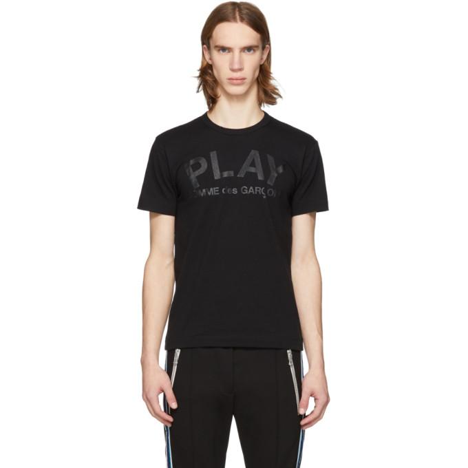 Comme des Garçons Play Black Logo T-shirt