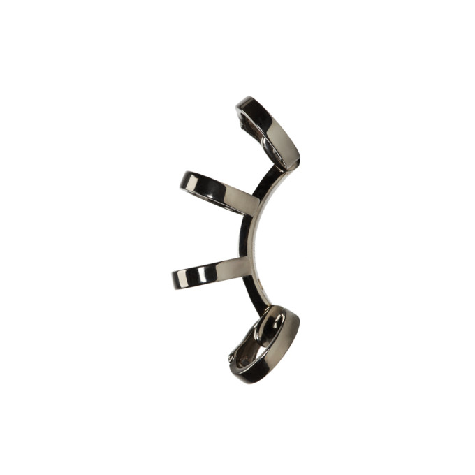 Image of Repossi Black Gold Multi-Band Berbere Ear Cuff