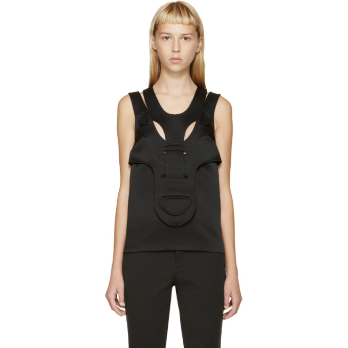 Image of Christopher Kane Black His/Her Tank Top