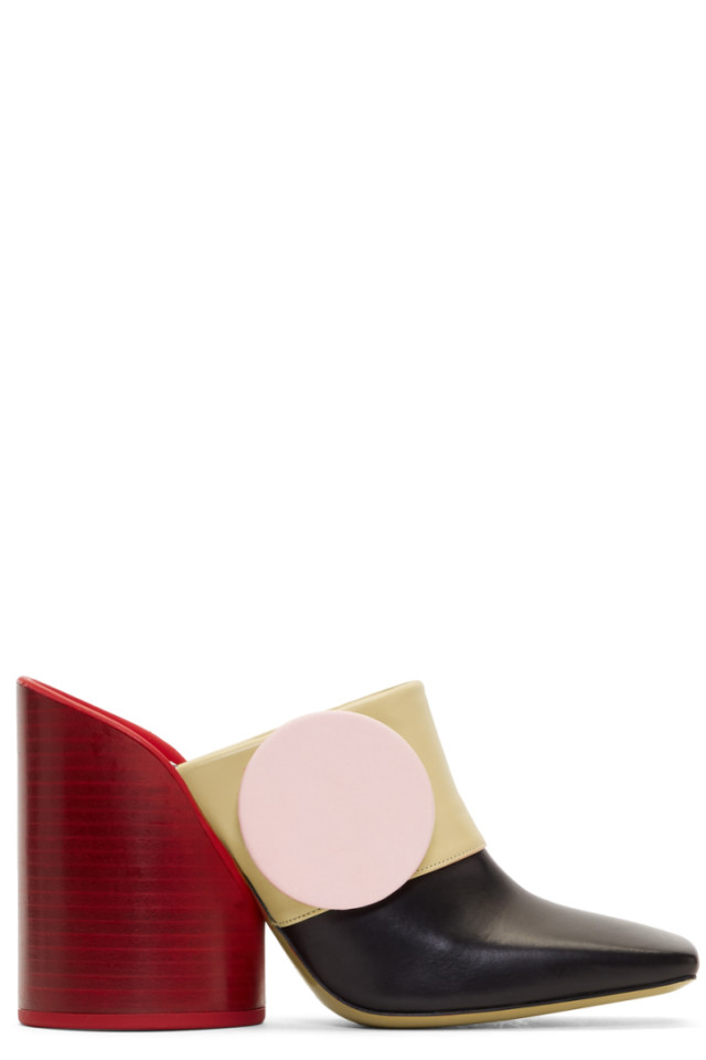 Jacquemus Multicolor 'Les Mules Boutons' Heels QaaCd1Jd