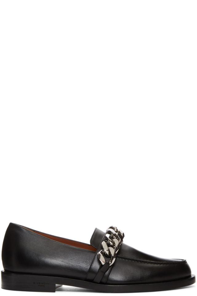 Black Chain Line Loafers Givenchy ZvV3Zj2Sr