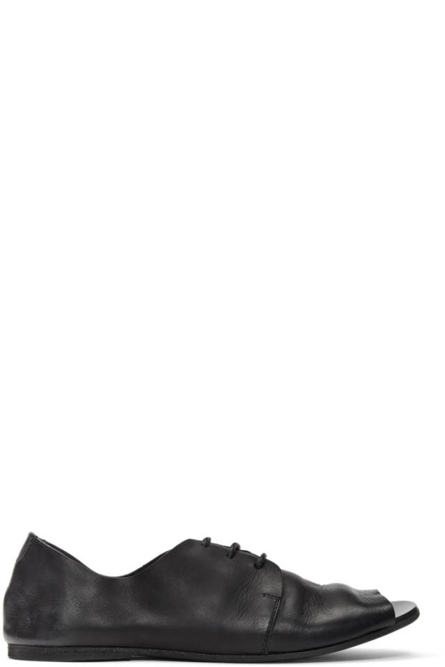 Black Cutout Oxford Sandals Mars ACPf7JAx