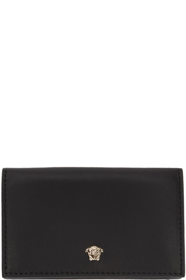 Black Medusa Folded Card Holder Versace 04Pp9o
