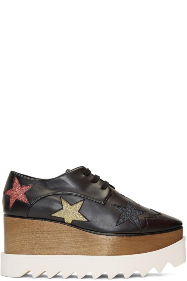 Stella McCartney Glitter Elyse Stars Derbys 813d1lM