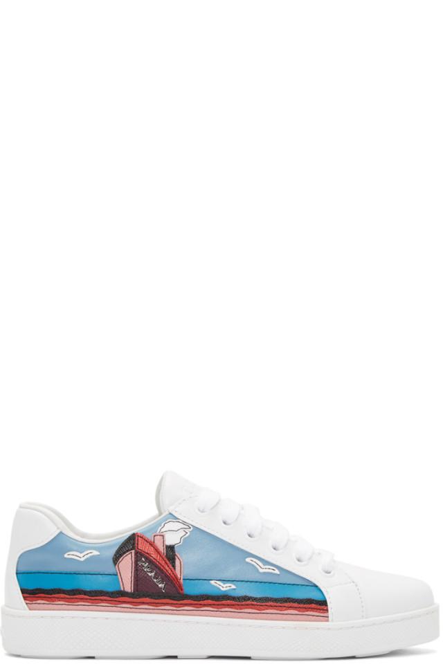 Prada Croisière Sneakers 5VUg0Z98