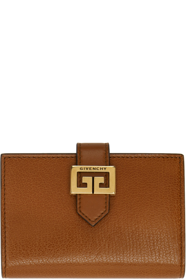 Tan GV3 Card Holder Givenchy MeF6ad9jp