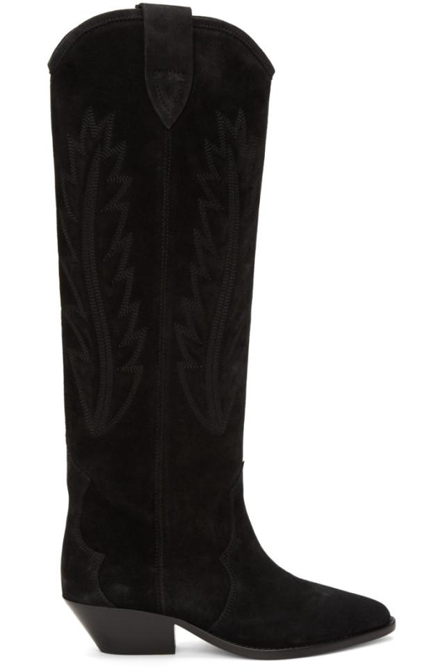 Isabel Marant Black Denzy Boots Acheter À Bas Prix Sneakernews commercialisable Stocker En Ligne Pas Cher vsRvAJVmwK