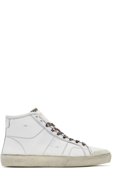 clearance free shipping free shipping brand new unisex Saint Laurent Classic Court hi-top sneakers footlocker pictures sale online good selling sale online 9m0BwDzI