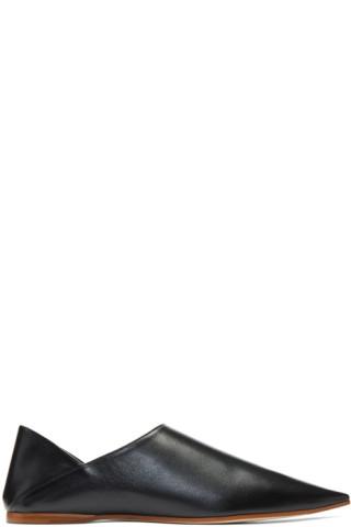 Black Aminata Slippers Acne Studios uTCBc