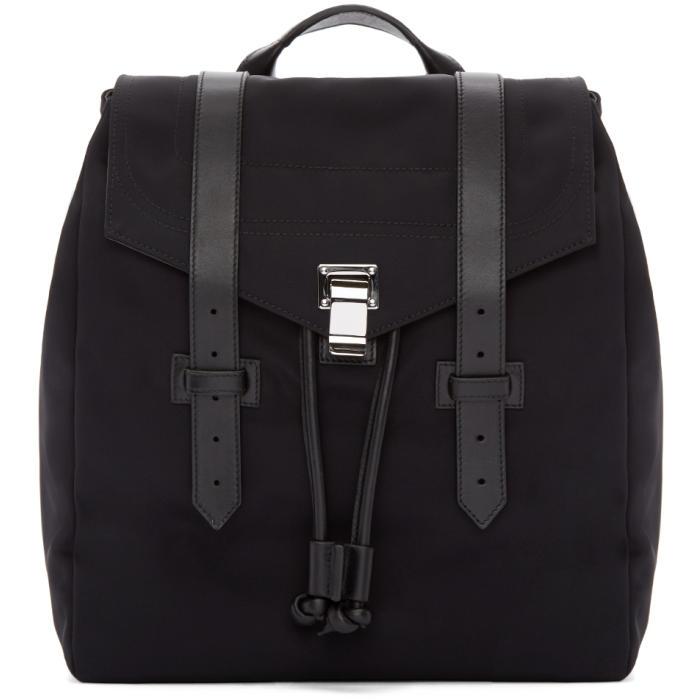 Proenza Schouler Black Nylon PS1 Backpack