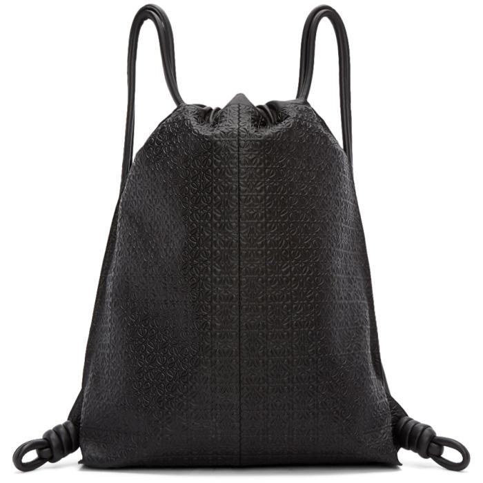 Loewe Black Anagram Yago Backpack
