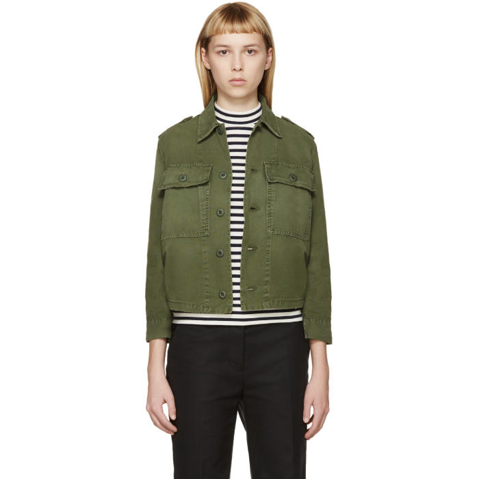Amo Green Military Jacket