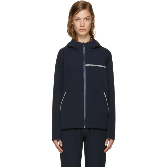 A.P.C. x Outdoor Voices Navy Running Anorak