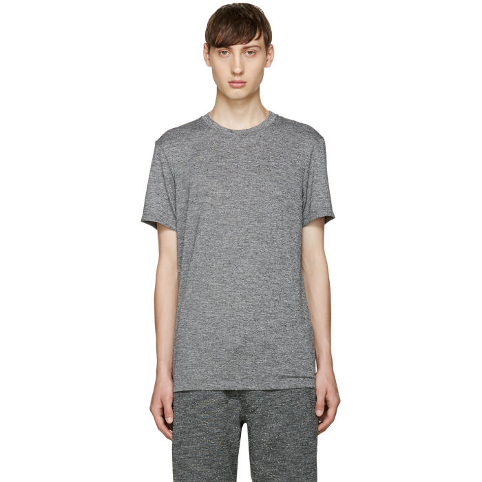 A.P.C. x Outdoor Voices Grey Speckled T-Shirt