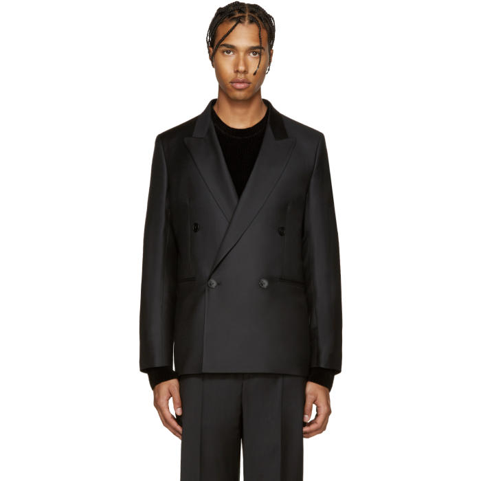 Paul Smith Black Wool Jacket